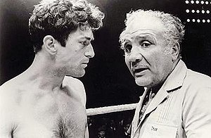 Raging Bull - Robert De Niro in training with the real Jake LaMotta