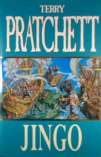 "Jingo (novel) - Advertisements stated ""The Discworld has come of age"""
