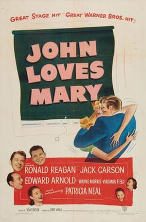 John Loves Mary - Theatrical release poster