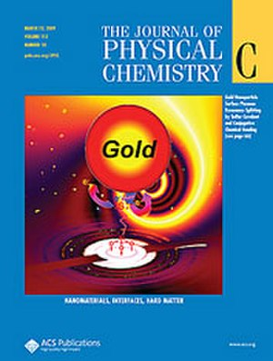 Journal of Physical Chemistry C - Image: Jpcc cover