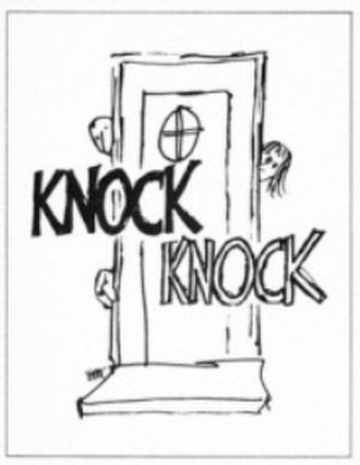 Knock Knock (play) - Poster and program cover