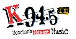 CKCW-FM - Original K 94.5 logo