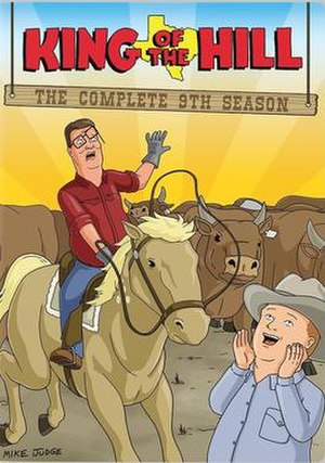 King of the Hill (season 9) - DVD cover