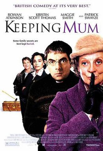 Keeping Mum - Theatrical release poster