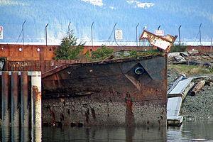 SS Cardena - Kelsey Bay, 2007