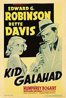 <i>Kid Galahad</i> (1937 film) 1937 film by Michael Curtiz