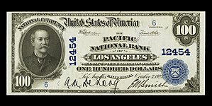 John Jay Knox Jr. - John Jay Knox's portrait was featured on the $100 National Bank Notes of the series of 1902.