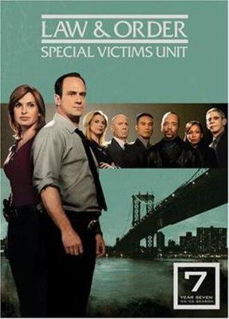 Law & Order: Special Victims Unit (season 7) - Season 7 U.S. DVD cover