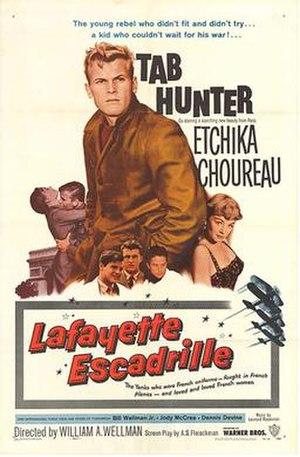 Lafayette Escadrille (film) - theatrical release poster