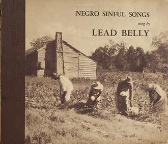 Black Betty - Image: Lead Belly Negro Sinful Songs album cover 1939