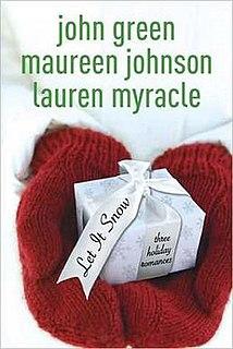 <i>Let It Snow: Three Holiday Romances</i> book by John Green