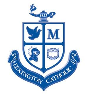 Lexington Catholic High School - Image: Lexington Catholic High School Crest