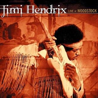 Live at Woodstock (Jimi Hendrix album) - Image: Live at Woodstock