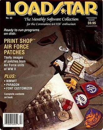 Commodore 64 software - Image: Loadstar 53