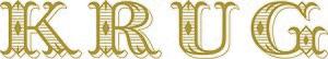 Champagne Krug - Krug's logotype
