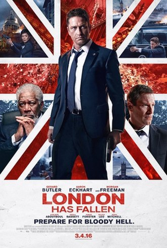 London Has Fallen - Theatrical release poster