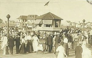 Long Beach, New York - Long Beach boardwalk, c. 1911
