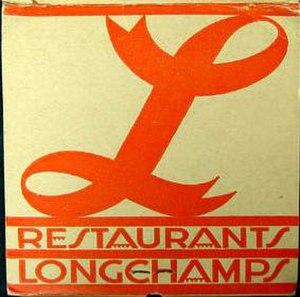 Longchamps (chain of restaurants) - Image: Longchamps Logo