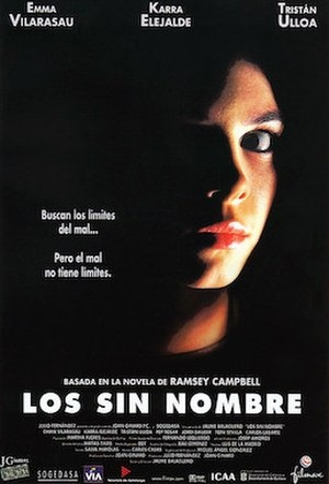 The Nameless (film) - Original Spanish poster