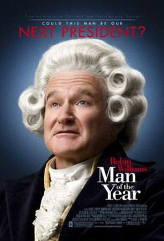 Man of the Year (2006 film) - Theatrical release poster