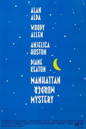 Manhattan Murder Mystery - Theatrical release poster
