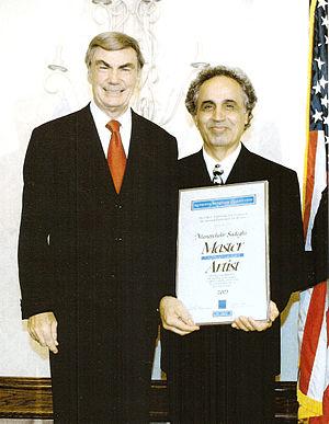 Manoochehr Sadeghi - 2003 National Heritage Fellowship Award Ceremony