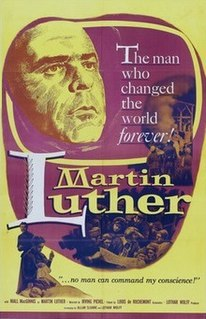 <i>Martin Luther</i> (1953 film) 1953 film biography directed by Irving Pichel