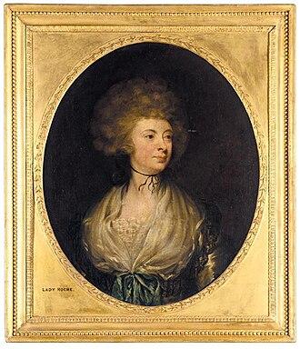 Boyle Roche - Mary, Lady Roche by Gilbert Stuart (ca. 1790)