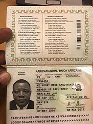 Image result for african passport