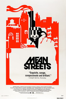 <i>Mean Streets</i> 1973 film directed by Martin Scorsese