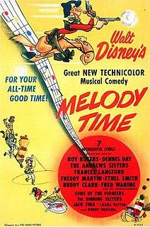 <i>Melody Time</i> 1948 Disney animated film