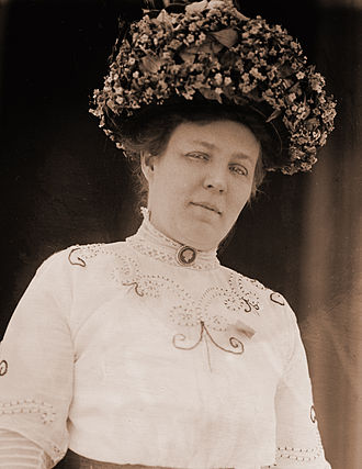 Meta Berger - Meta Berger as she appeared in 1911, at the time of her husband's election to the United States Congress.