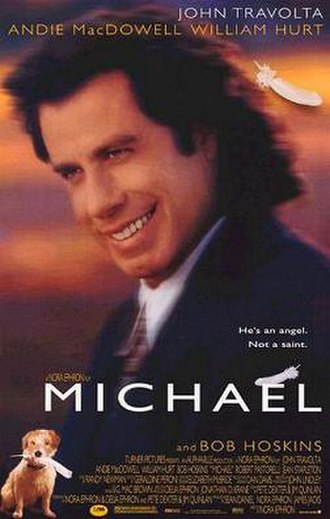 Michael (1996 film) - Theatrical release poster