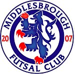 Middlesbrough Futsal Club Crest 2009.jpg
