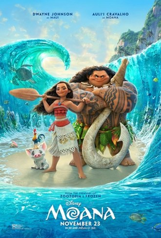 Moana (2016 film) - Theatrical release poster