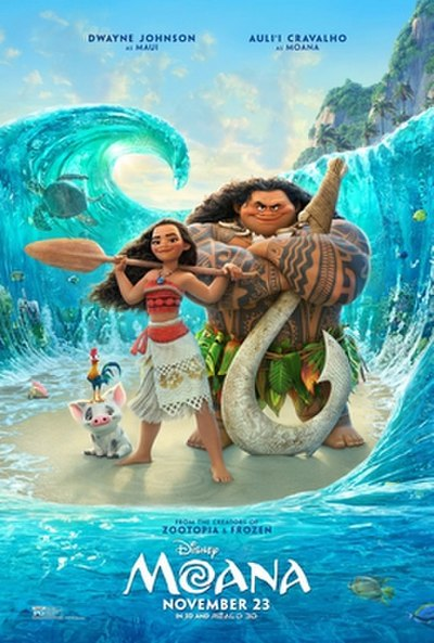Picture of a movie: Moana