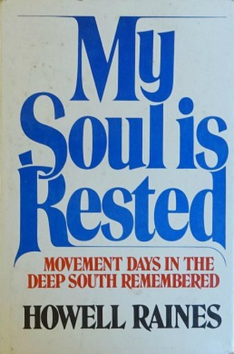 My Soul Is Rested - Image: My Soul Is Rested (Raines book)