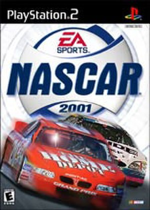 NASCAR 2001 - North American PlayStation 2 cover art