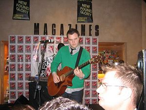 Coming Home (New Found Glory album) - Chad Gilbert performs acoustically during a store signing promoting Coming Home