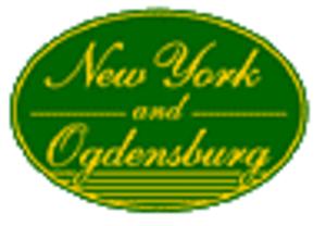 New York and Ogdensburg Railway - Image: New York and Ogdensburg Railway logo