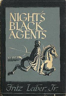<i>Nights Black Agents</i> book by Fritz Leiber