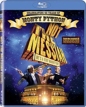 Not the Messiah (He's a Very Naughty Boy) - Blu-ray release cover art