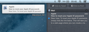 OS X Mountain Lion - Image: Notification Center Mountain Lion