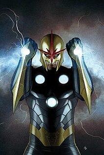 Nova (Richard Rider) Comic book superhero