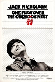 <i>One Flew Over the Cuckoos Nest</i> (film) 1975 drama film based on the novel by Ken Kesey