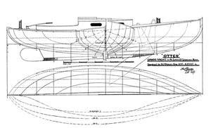 Albert Strange - Image: Otter canoe yacht plans