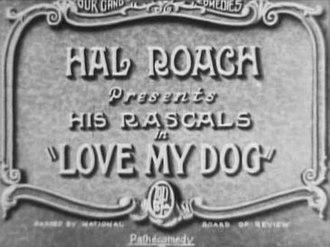 Love My Dog - Title card