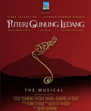 Puteri Gunung Ledang (musical) - Original Box-Office Poster