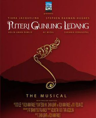 Puteri Gunung Ledang (musical) - Original Box-Office Poster