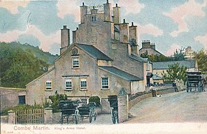Pack o' Cards - As The King's Arms Inn c.1905